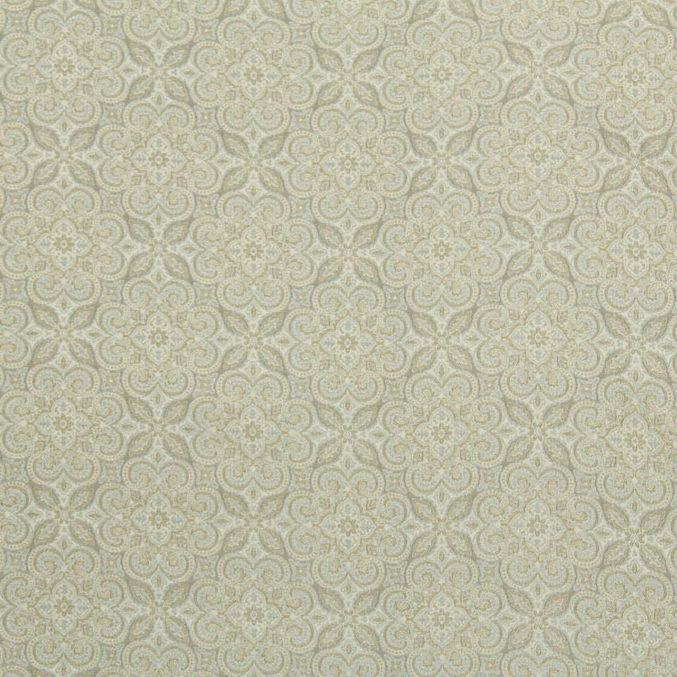 STERLING Benton City Fabric - Sterling