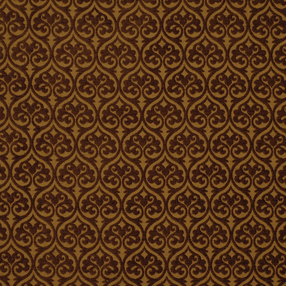DARK NEUTRAL Prinsepia Fabric - Chocolate