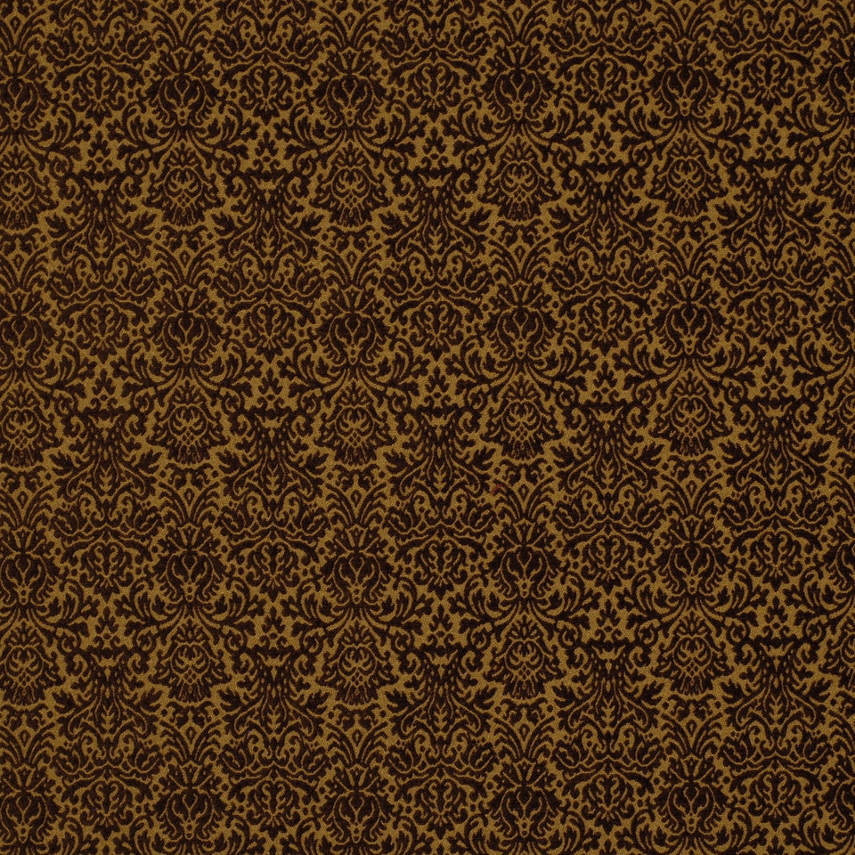 DARK NEUTRAL Butterfly Bush Fabric - Chocolate