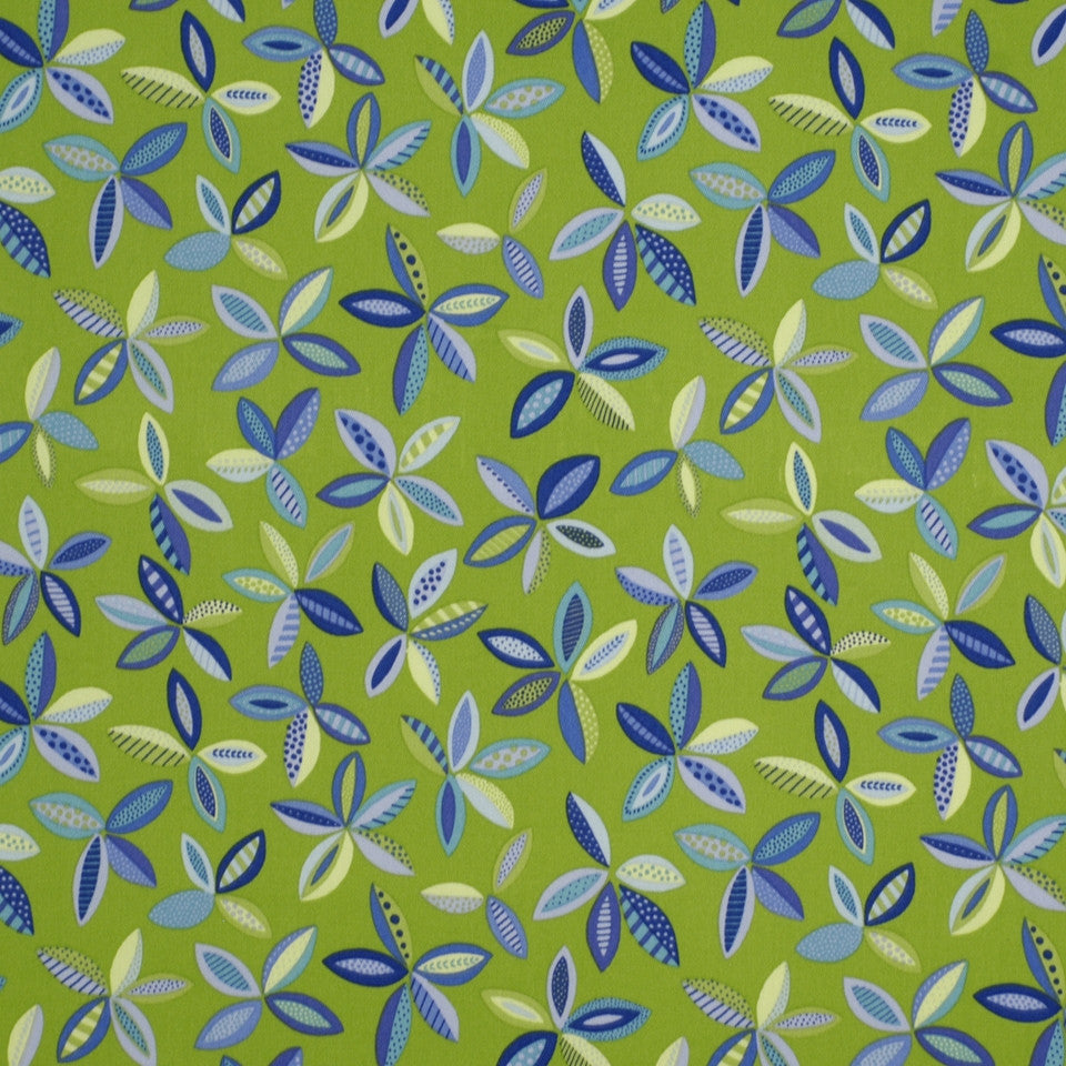 OUTDOOR @ HOME Banyan Tree Fabric - Marine