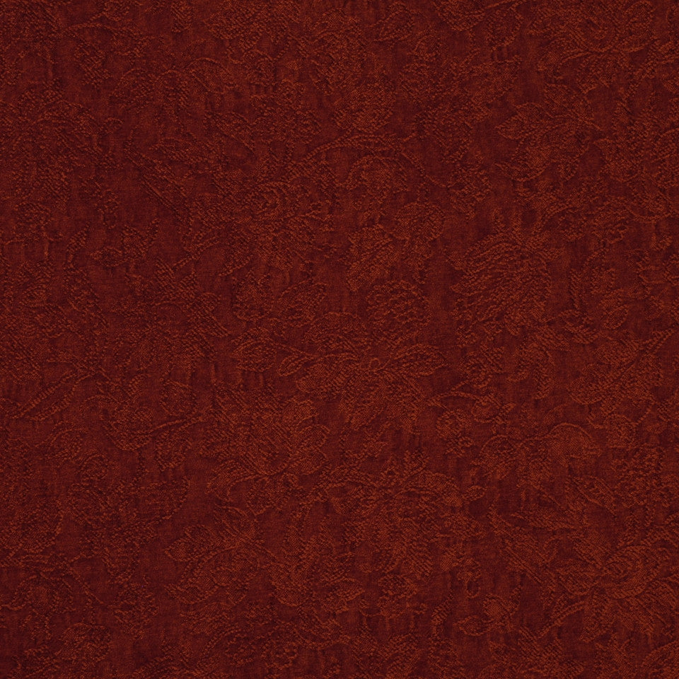RED Garden Royalty Fabric - Rust