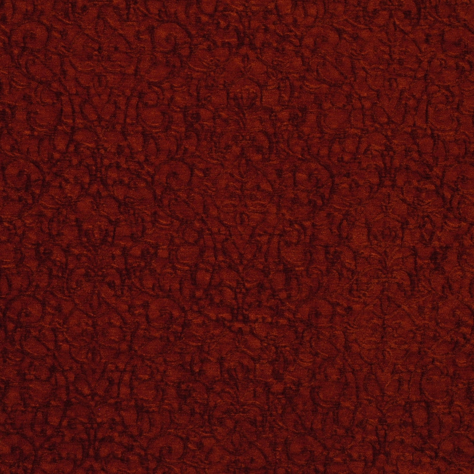 RED Regal Splendor Fabric - Papaya