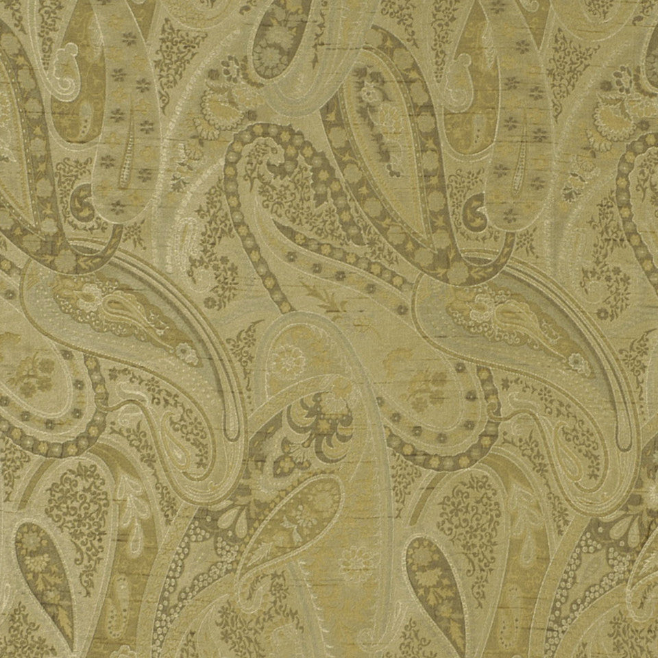 SAND DOLLAR-LATTE-BARLEY Country Life Fabric - Sage