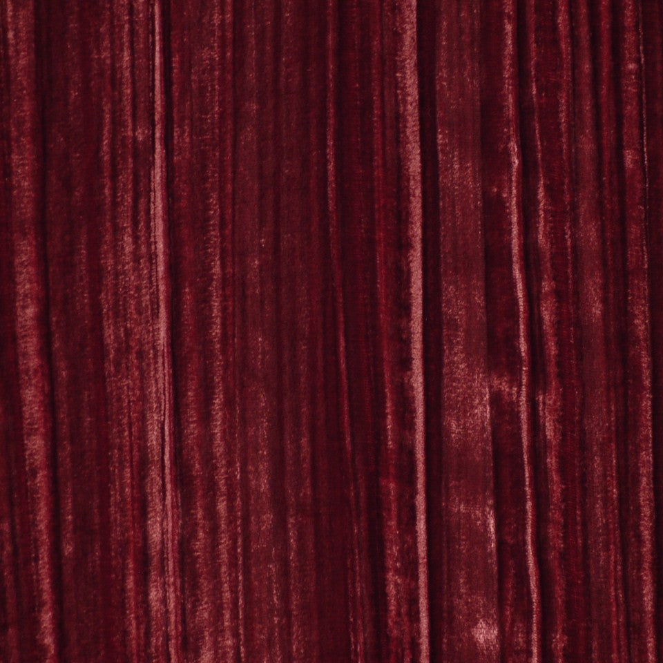 DRAPEABLE VELVETS Soho Velvet Fabric - Wine
