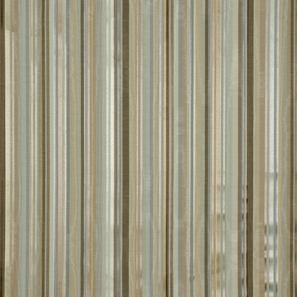 COOL Berra Stripe Fabric - Palm