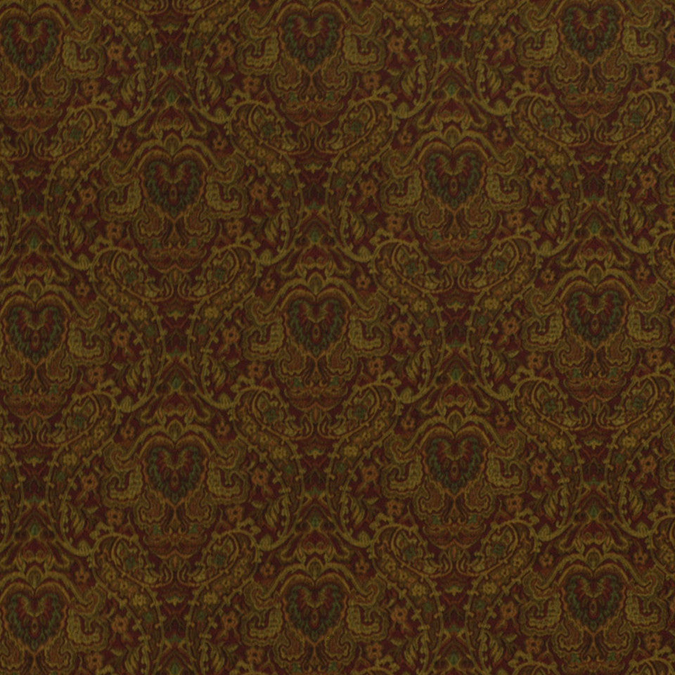 POMEGRANATE-HONEY-SEDONA Hypothetical Fabric - Bordeaux