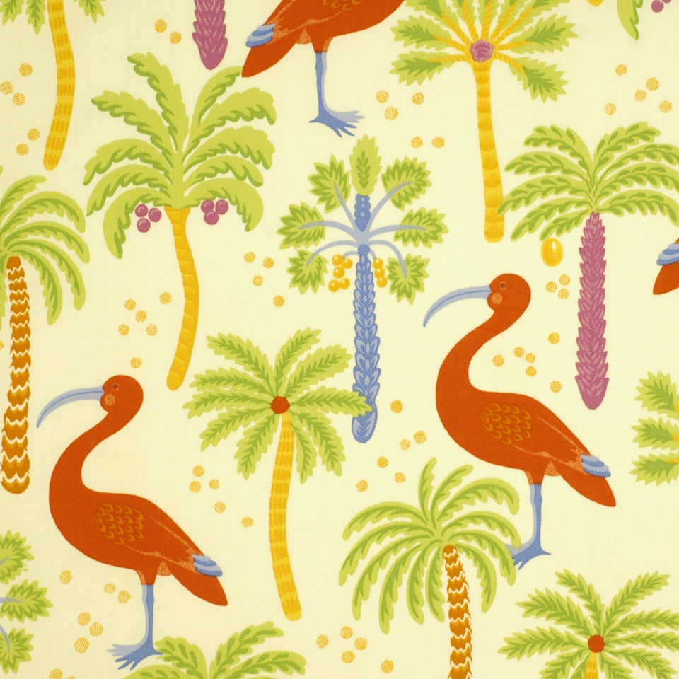 OUTDOOR @ HOME Ibis Island Fabric - Multi