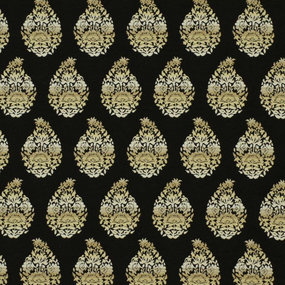COLD FUSION INDOOR/OUTOOR Amazing Grace Fabric - Cinder