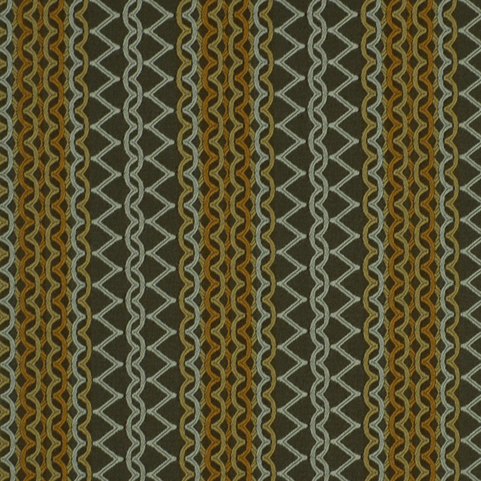 COLD FUSION INDOOR/OUTOOR Udaipur Fabric - Chai