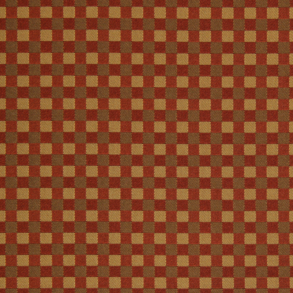 SAFFRON-AUBURN-SIENNA Color Blocks Fabric - Chile