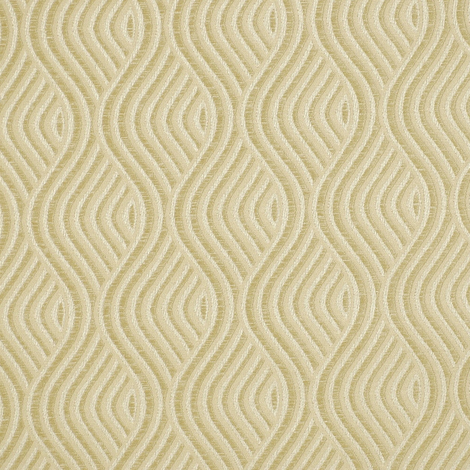 SHELTER ISLAND Nouveau Wave Fabric - Pearl