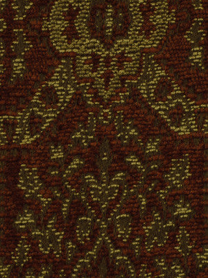 RHUBARB-PUMICE-BLUE OPAL Flying Carpet Fabric - Spice