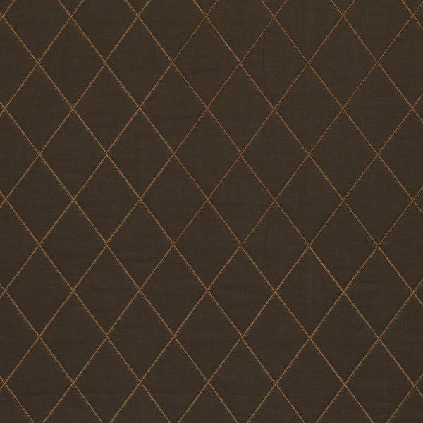 EMBELLISHED NATURALS WARM De Signet Fabric - Cocoa