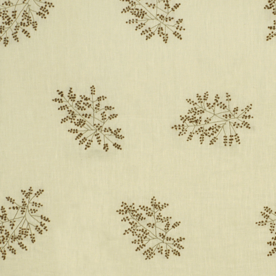 EMBELLISHED NATURALS WARM Hand Knotted Fabric - Toffee