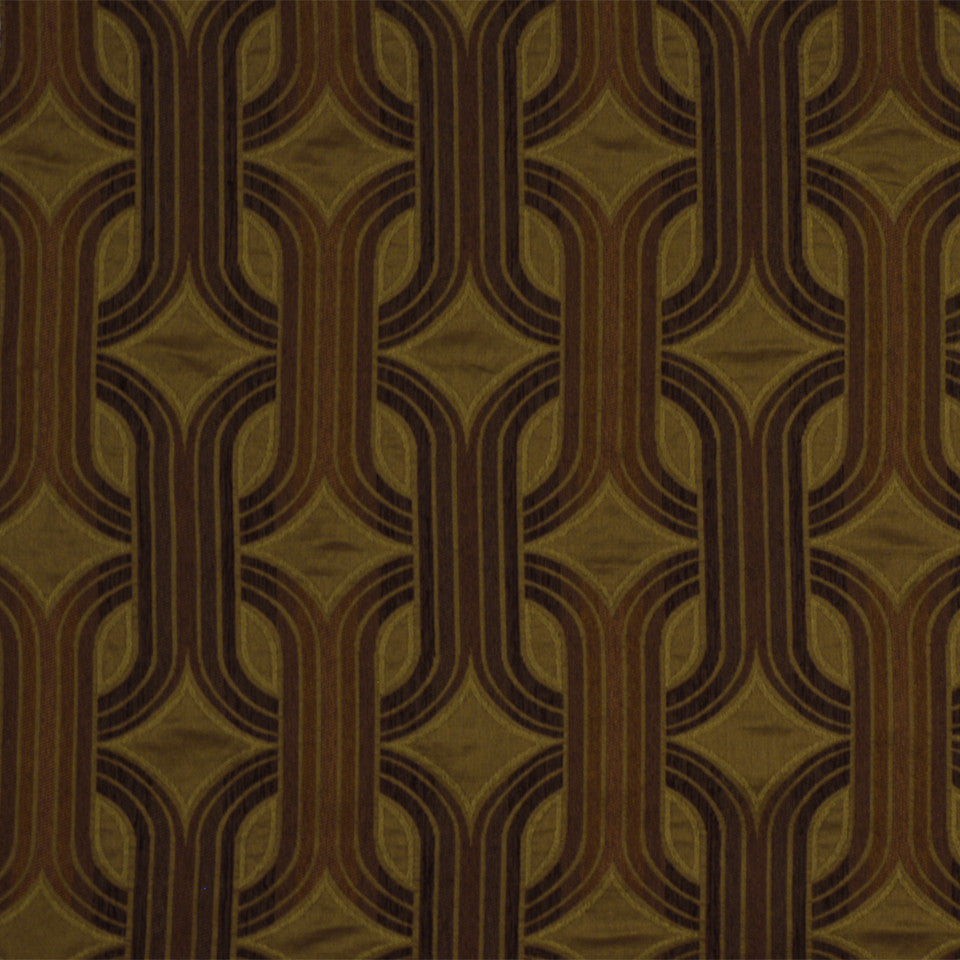 EMBER-TOFFEE-INK Television Fabric - Toffee