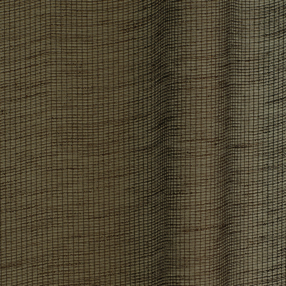 SOLID LINEN SHEERS Spring Promise Fabric - Cocoa
