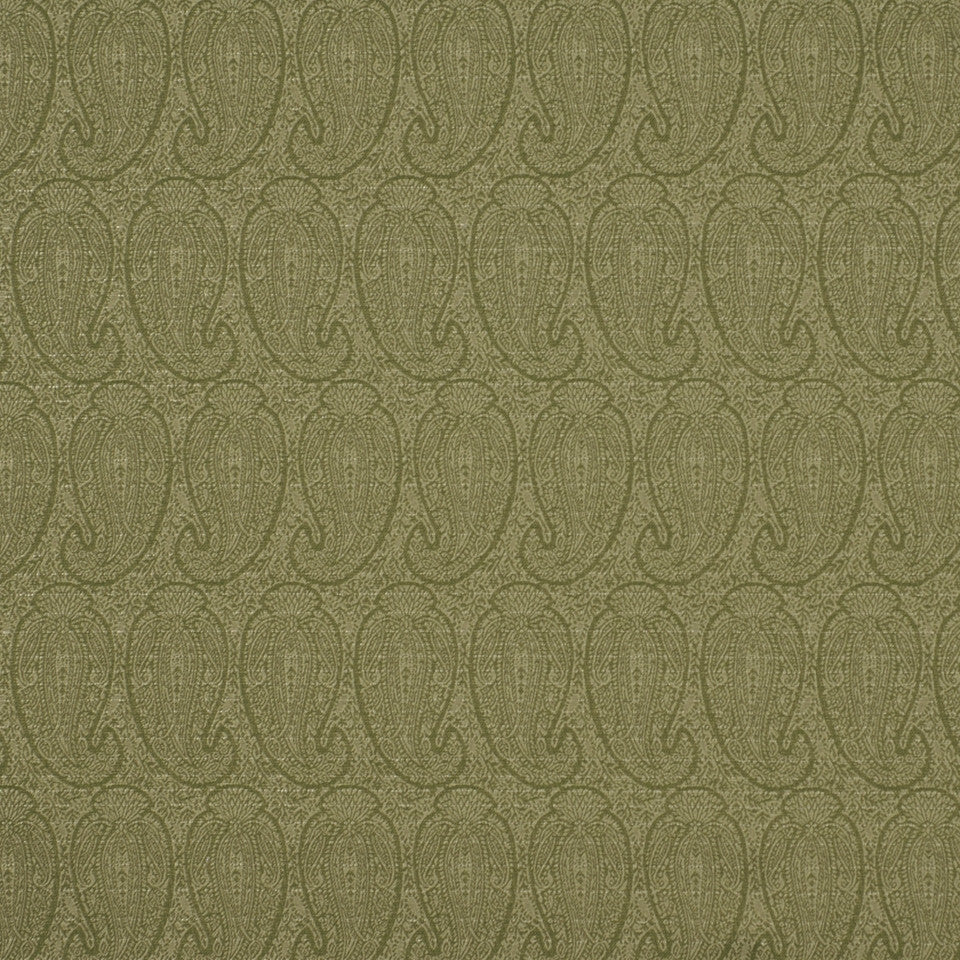 CORPORATE BINDER: PERFORMANCE/FINISHES DECORATIVE/UPH SOLIDS AND TEXTURES/ECO I Eco Paisley Fabric - Aspen