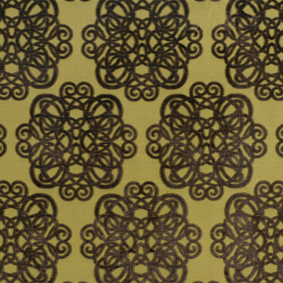 LARRY LASLO MOONSTONE Archetype Fabric - Citrine
