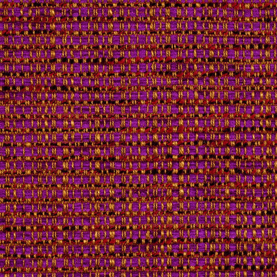 LARRY LASLO FLAME Intermix Fabric - Amethyst