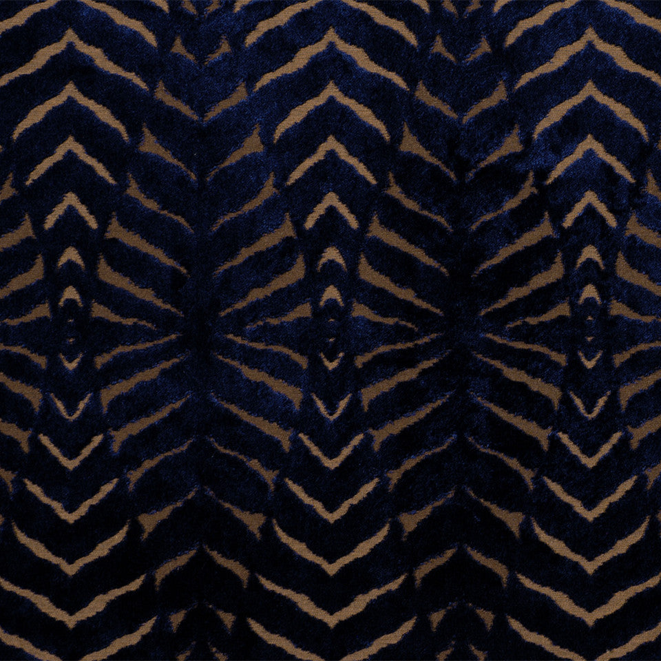 LARRY LASLO MOONSTONE Magnetism Fabric - Lapis