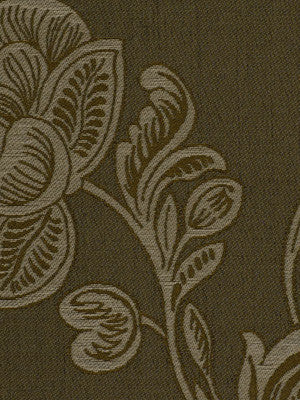 GOSSAMER WINDOW Faro Fabric - Burnt Umber