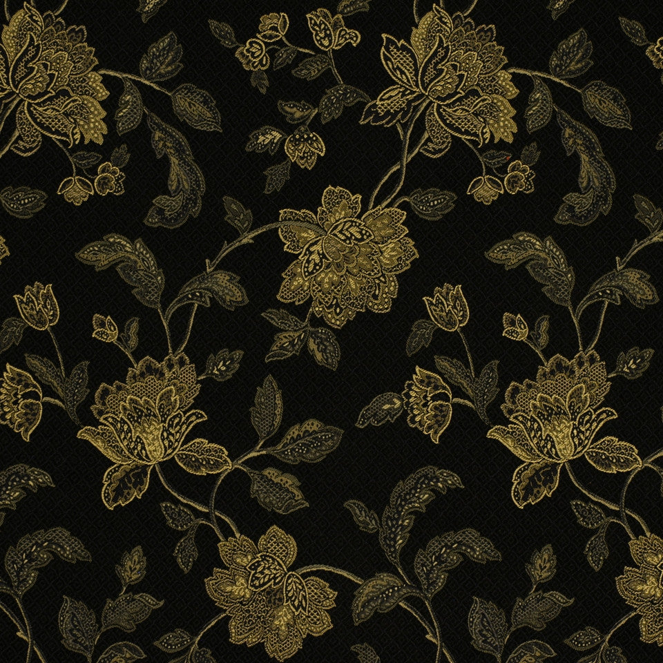 PRUSSIAN Orchard Hill Fabric - Prussian