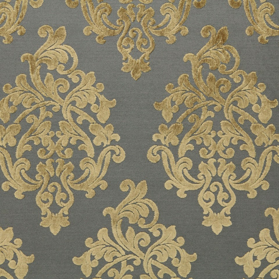 SLATE Royal Beauty Fabric - Slate