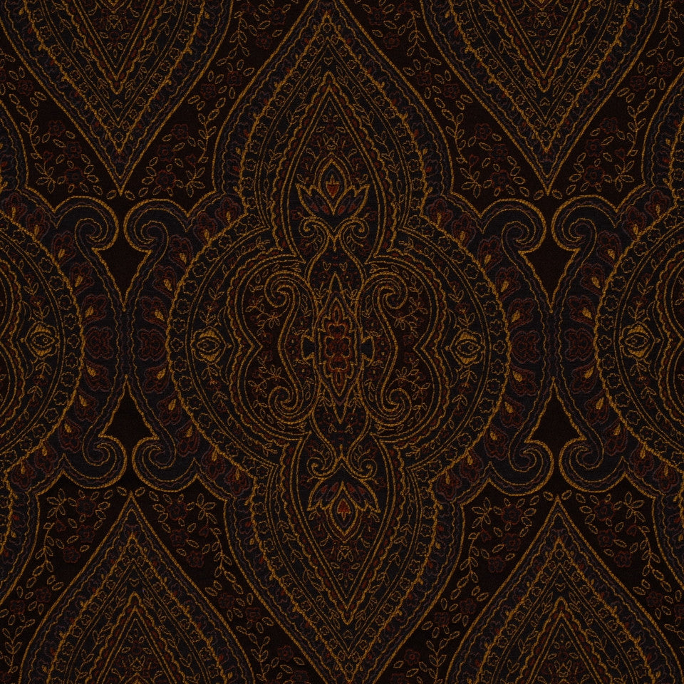 PRUSSIAN Harvest Home Fabric - Prussian