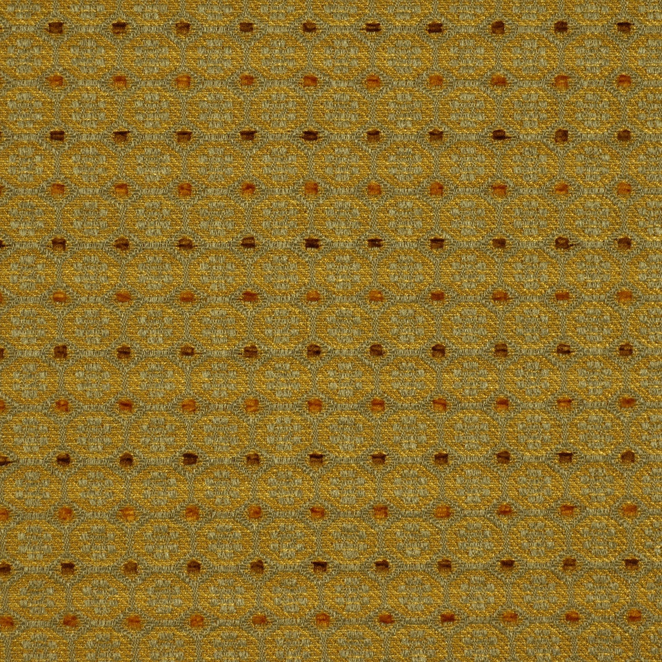 JADE Circle N Dots Fabric - Jade