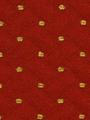 FIRE Quilted Pearls Fabric - Fire