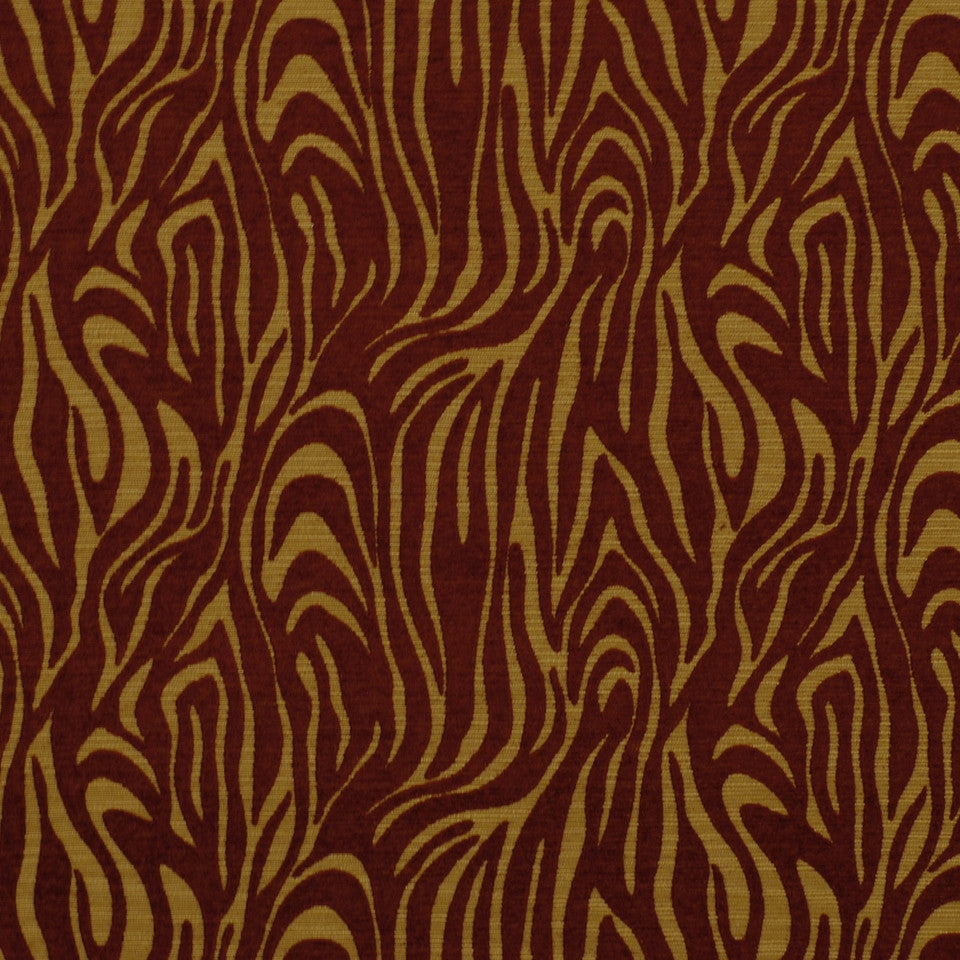 ETHNIC CHIC Shere Khan Fabric - Sienna