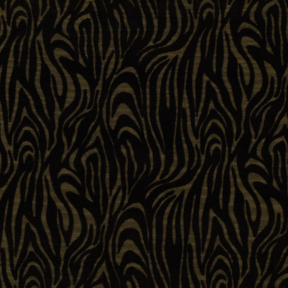 ETHNIC CHIC Shere Khan Fabric - Onyx