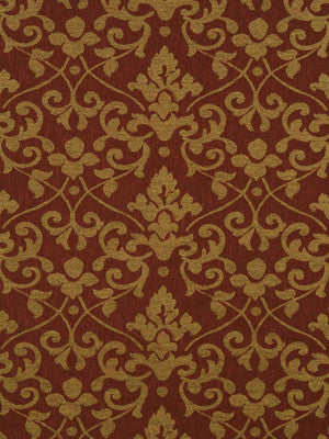 ETHNIC CHIC Lisbon Damask Fabric - Venetian