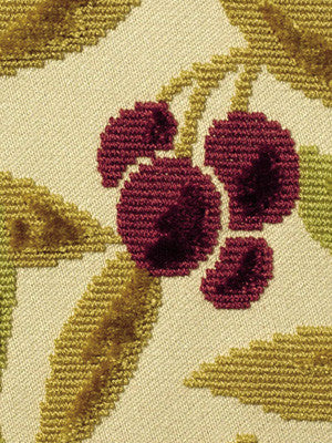 GOLDENROD Cherry Grove Fabric - Goldenrod