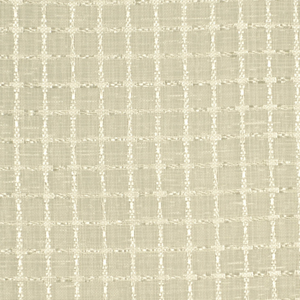 DESIGN ELEMENTS Sheer Energy Fabric - Ivory