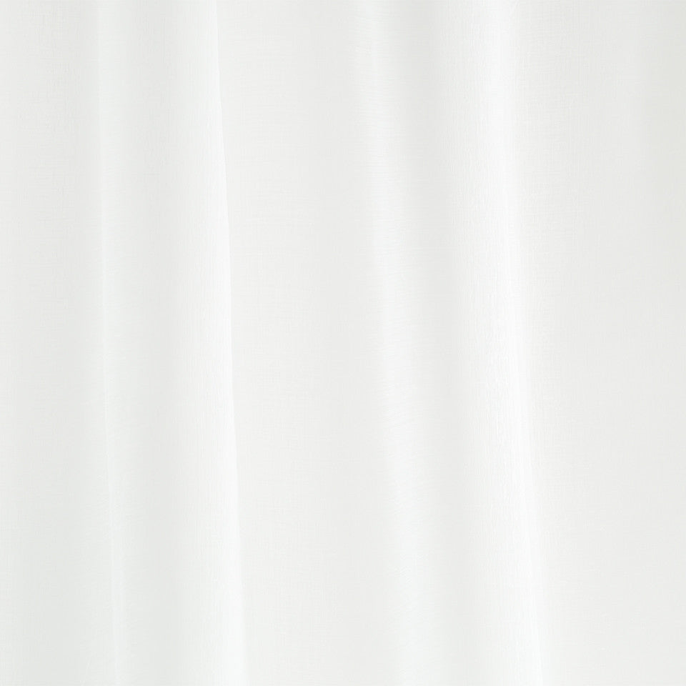Matte Sheers Merlana Fabric - White