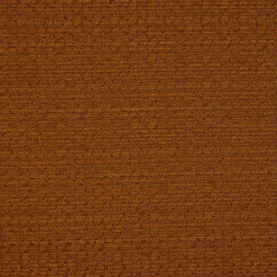 CORPORATE BINDER: PERFORMANCE/FINISHES DECORATIVE/UPH SOLIDS AND TEXTURES/ECO I Leaf Strie Fabric - Amber