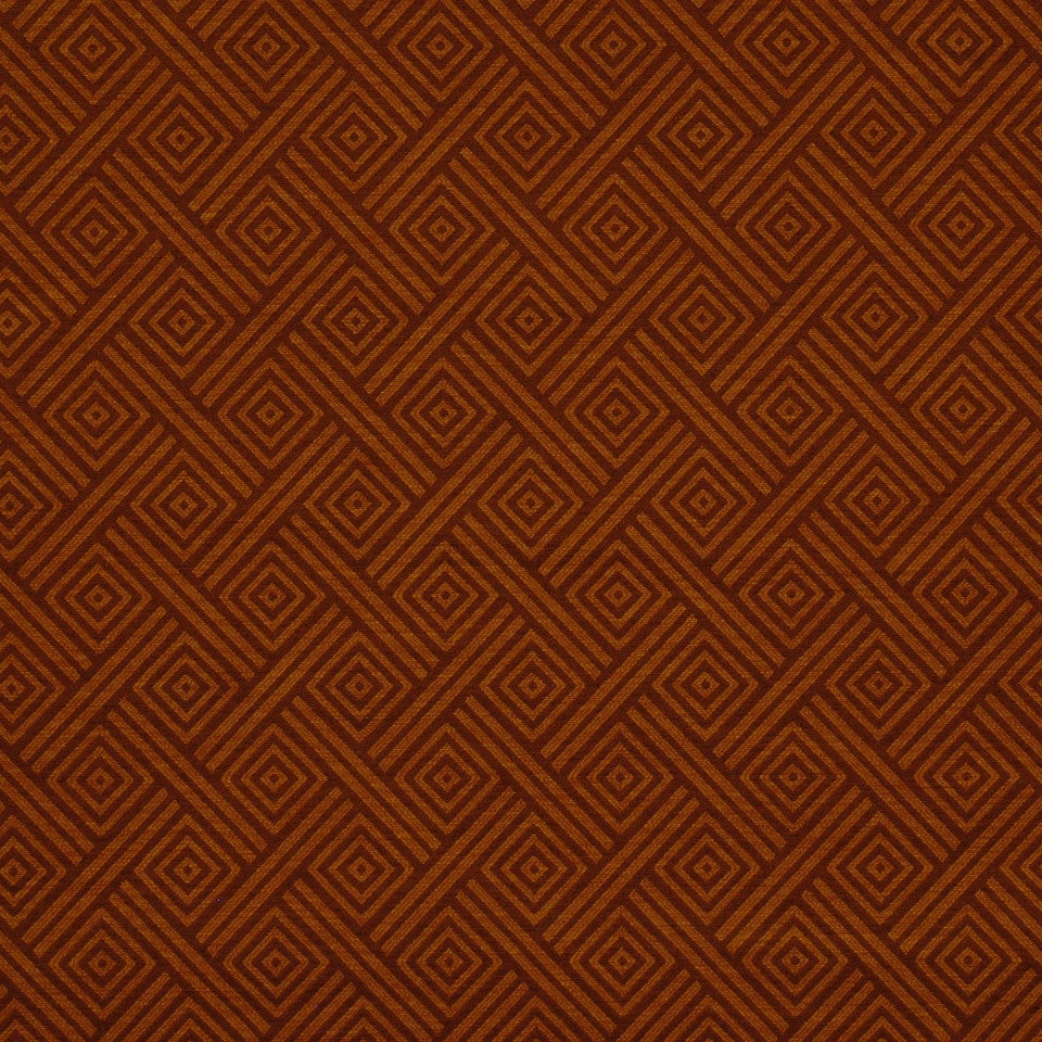 CORPORATE BINDER: PERFORMANCE/FINISHES DECORATIVE/UPH SOLIDS AND TEXTURES/ECO I Tribal Chance Fabric - Amber