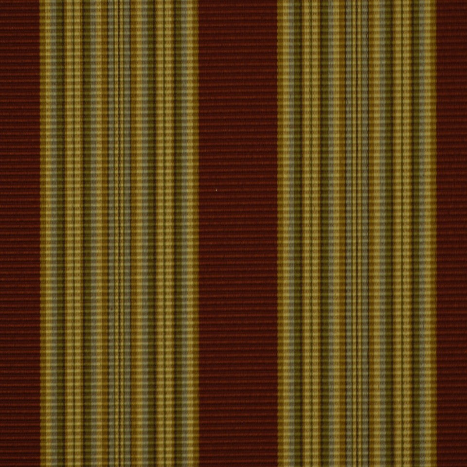 ETHNIC CHIC Hazel Stripe Fabric - Spice