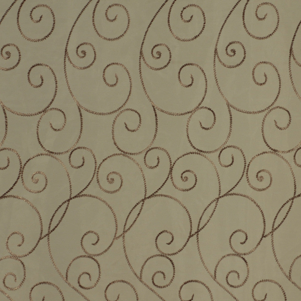 DESIGN ELEMENTS Bullion Trail Fabric - Dusk