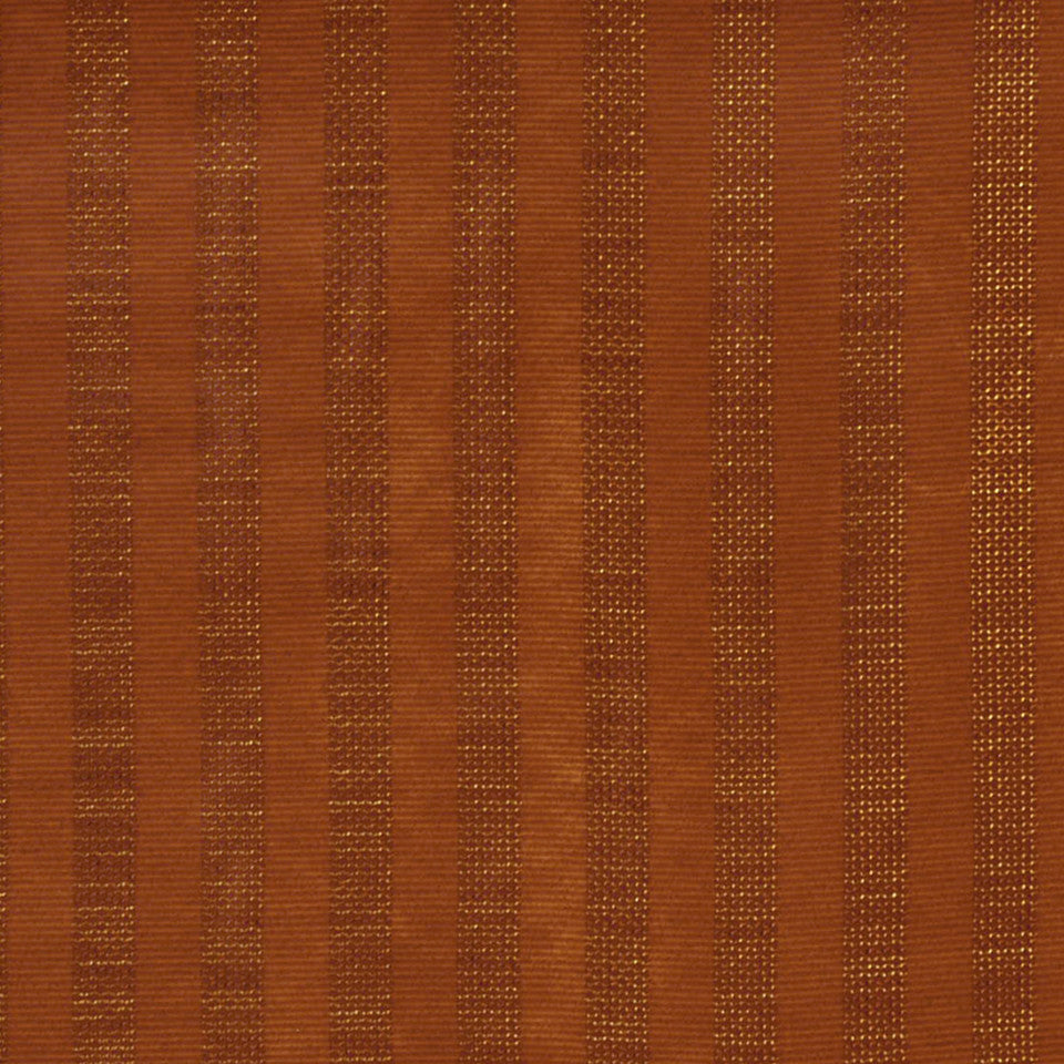 CONTEMPORARY CLASSICS III Dogga Stripe Fabric - Carnelian
