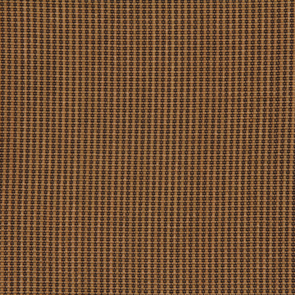 RUSTIC JUTE AND RAFFIA Tenacity Fabric - Teak