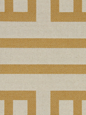 Ming Fret Fabric - Gold