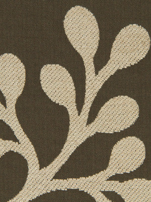 Leaf Berry Fabric - Truffle