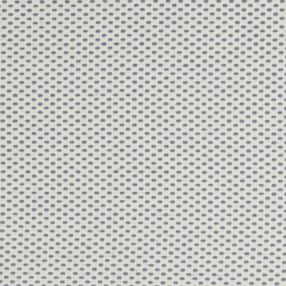 MUSSEL SHELL Color Grids Fabric - Hydrangea