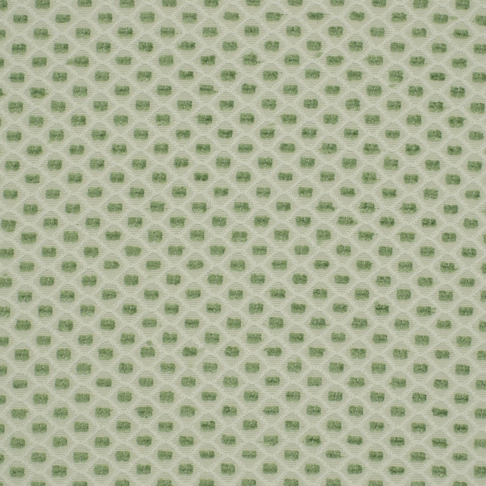 LEAF Color Grids Fabric - Leaf