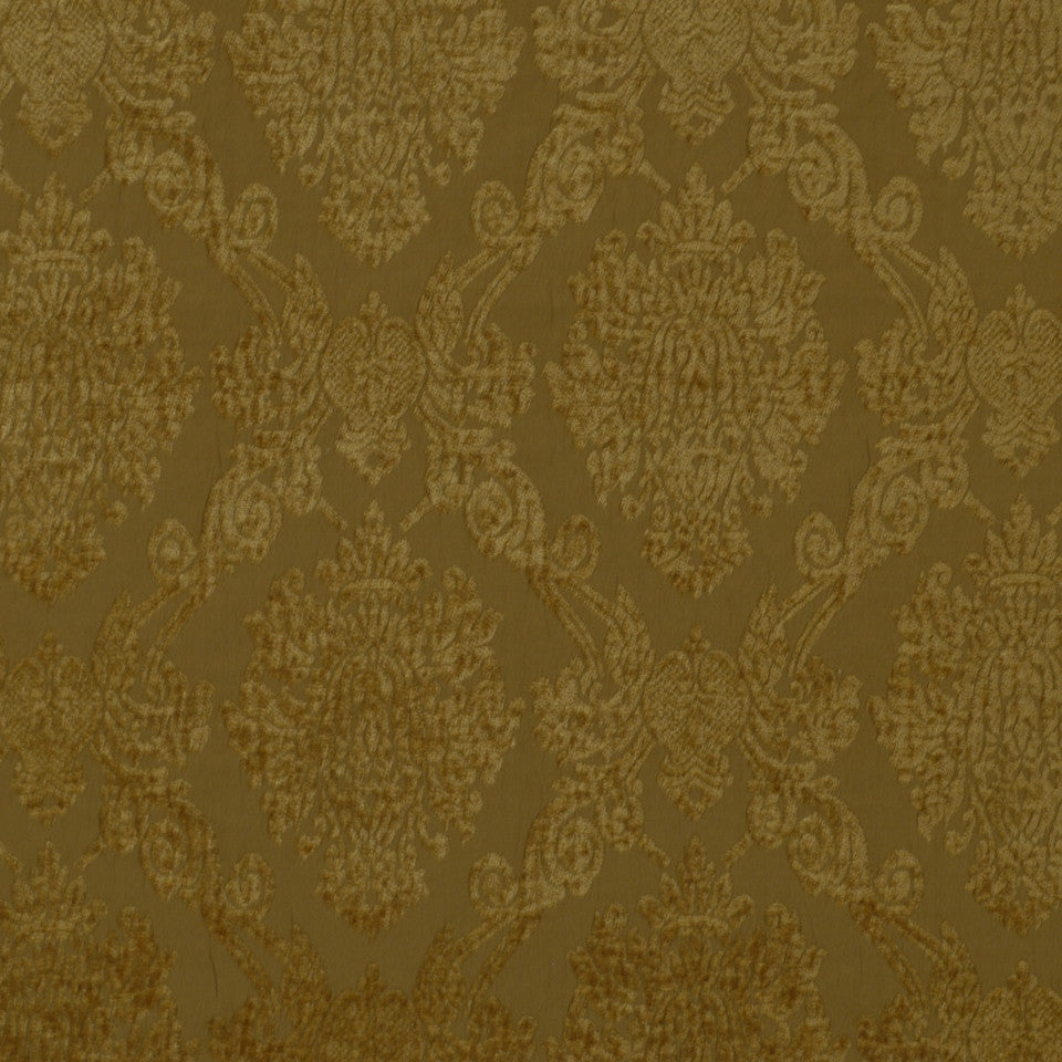 Royal Damask Fabric - Champagne