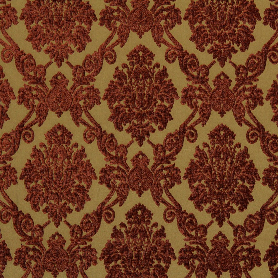 Royal Damask Fabric - Saffron