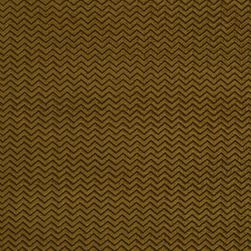 Royal Chevron Fabric - Bark