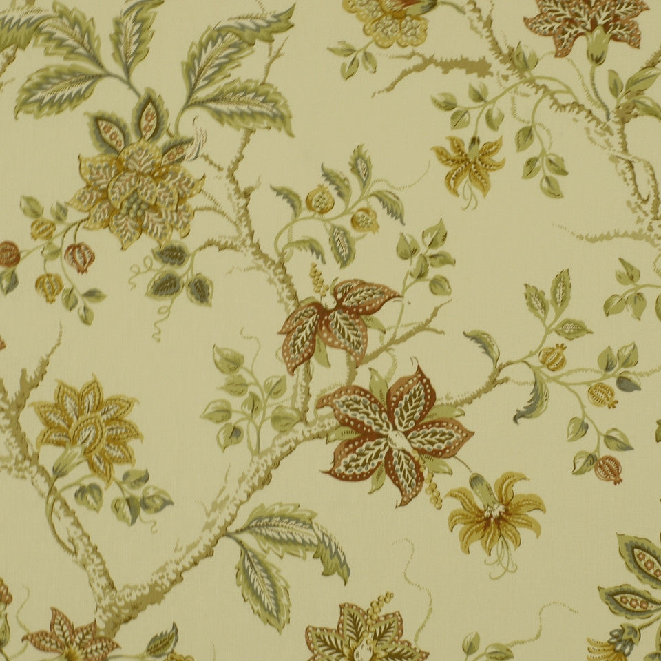 SUNSET-HENNA-BERRY Meadowview Fabric - Spice